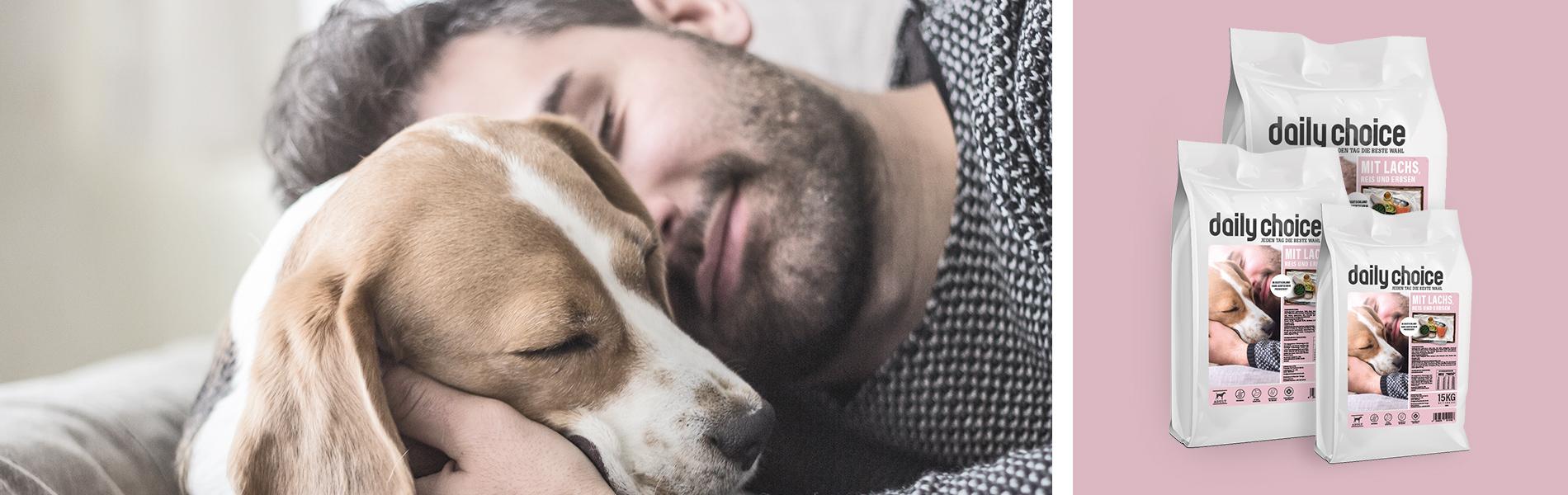 daily choice Hund Trockenfutter Lachs weizenfrei