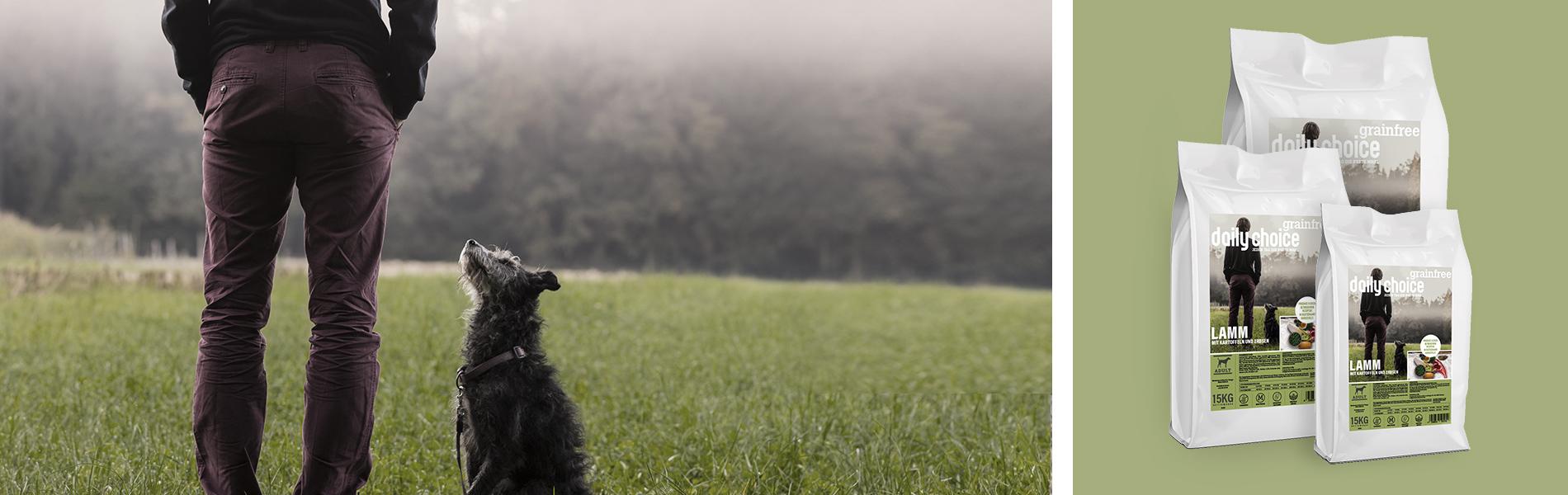 daily choice Hund Trockenfutter Lamm getreidefrei