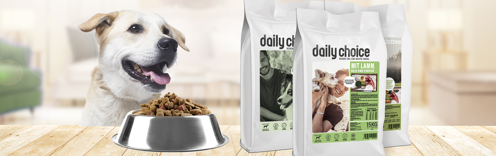 daily choice Hund Trockenfutter die beste Wahl