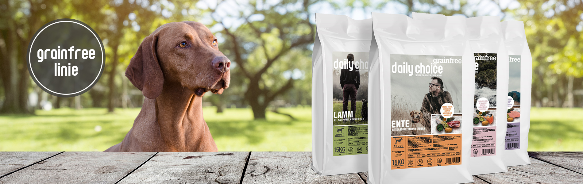 daily choice Hund Trockenfutter getreidefrei made in Germany