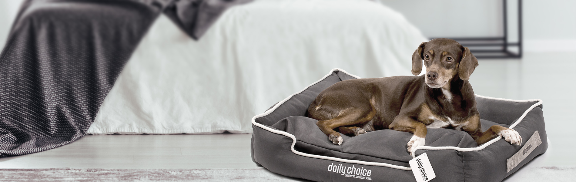 daily choice Hundebett Kuschelkoje jeden Tag