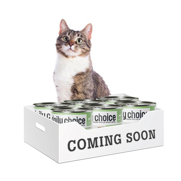 daily choice Katzenfutter bald erhältlich