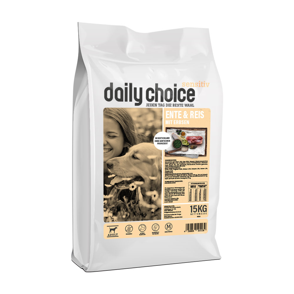 daily choice Sensitive Ente und Reis