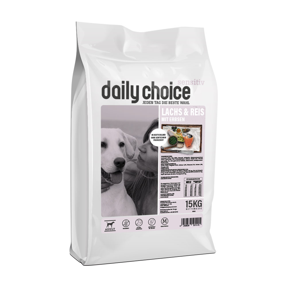 daily choice Sensitive Lachs und Reis