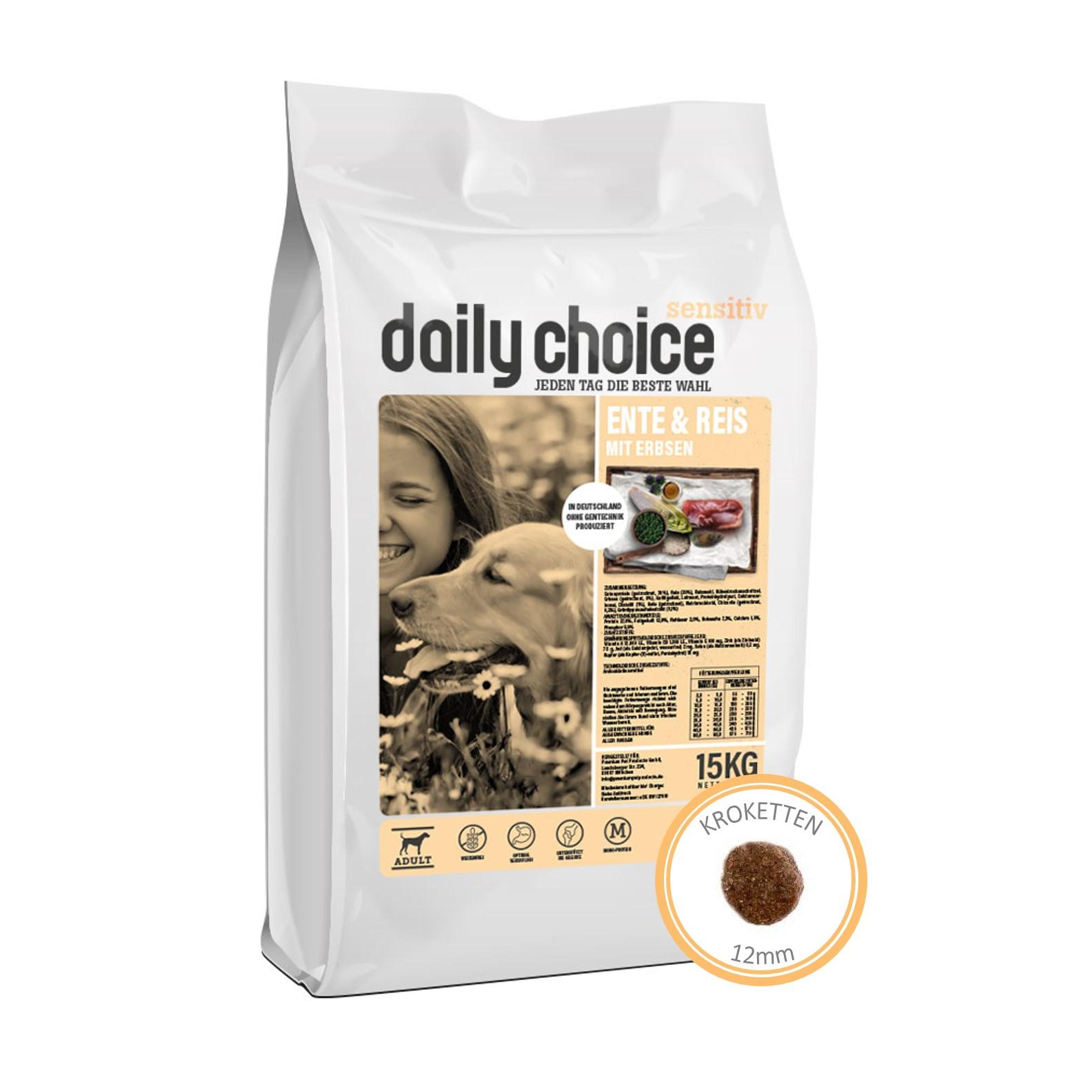 daily choice Sensitive Ente und Reis