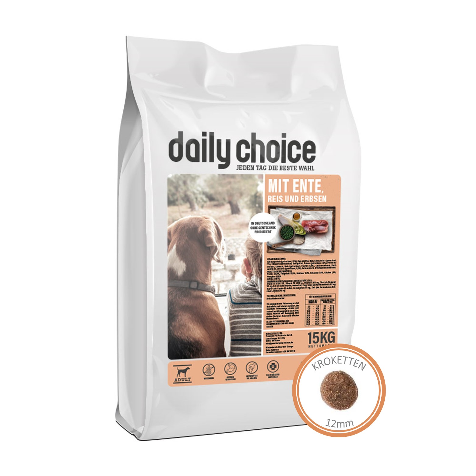 daily choice basic mit Ente