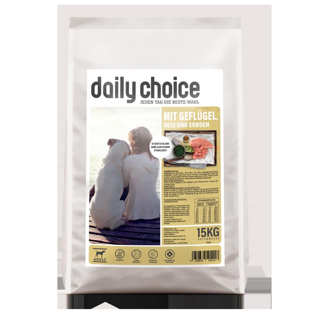 daily choice Hundefutter mit Geflügel