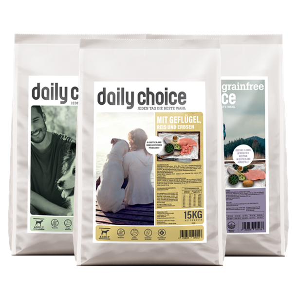 daily choice Hunde Trockenfutter basic sensitiv grainfree
