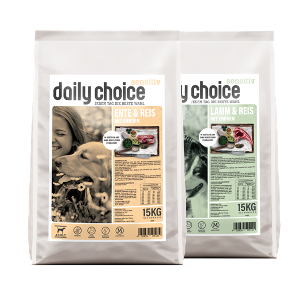 daily choice Hund Trockenfutter sensitiv
