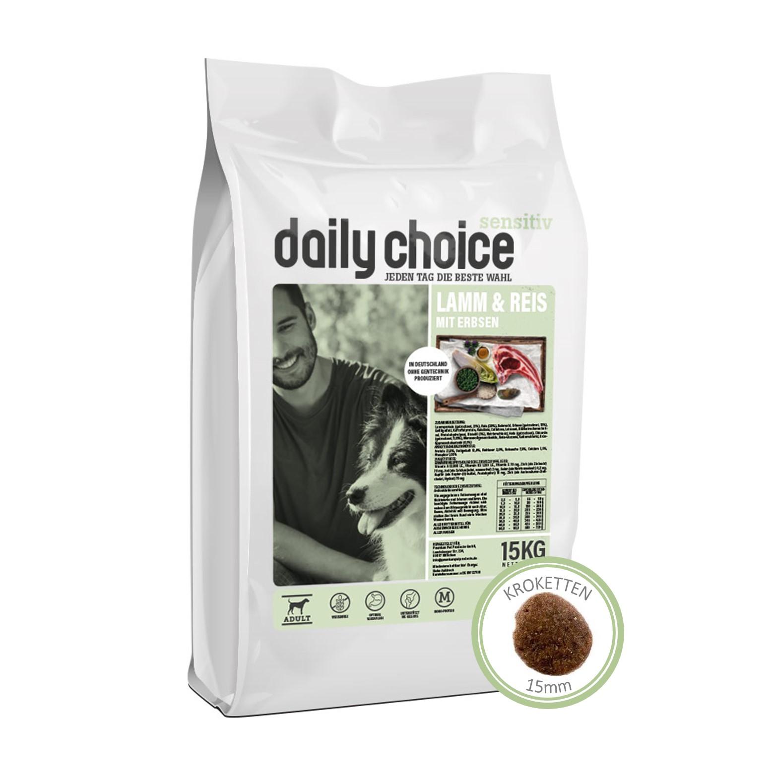 daily choice Sensitive Lamm und Reis