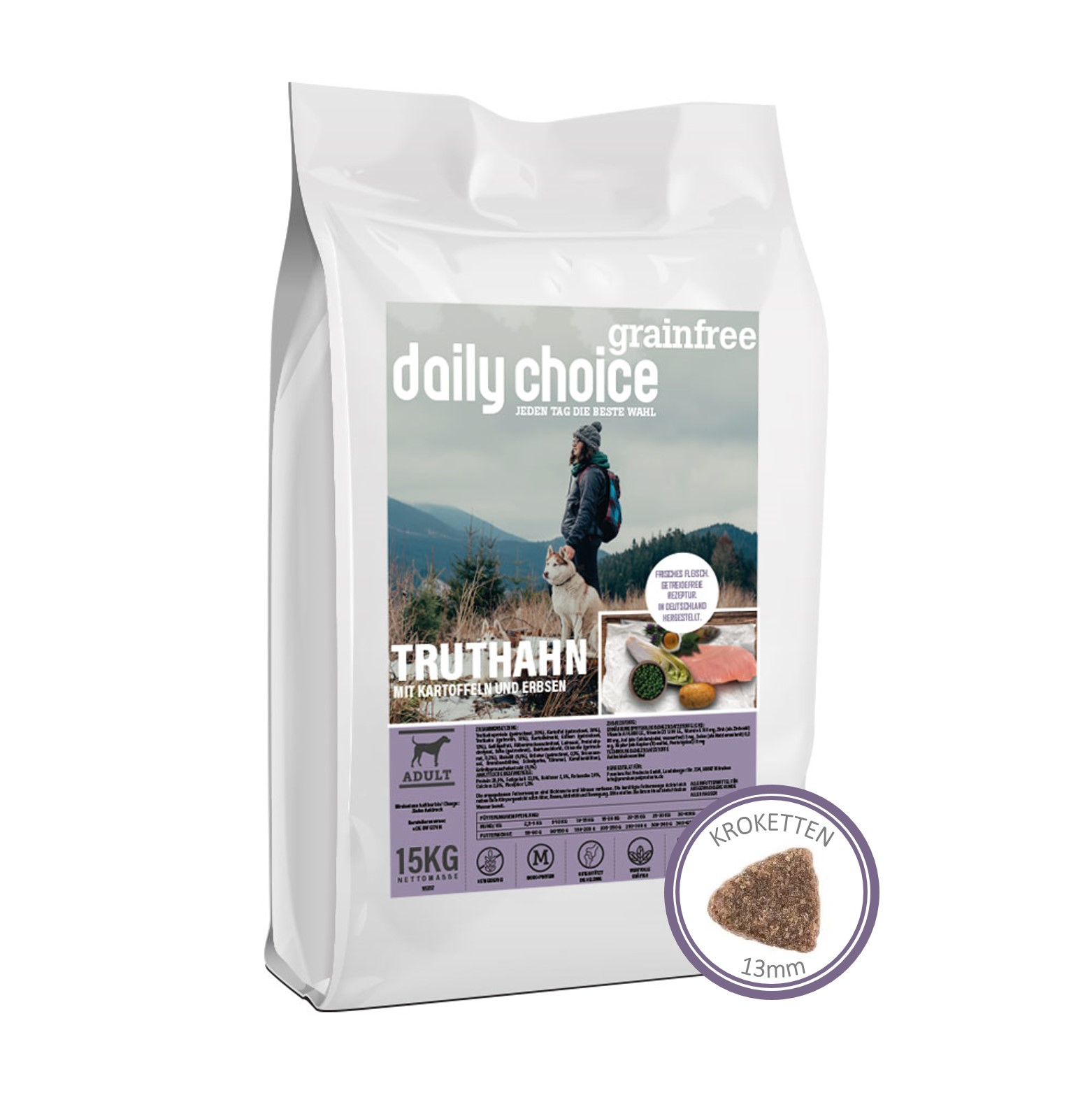 daily choice grainfree truthahn